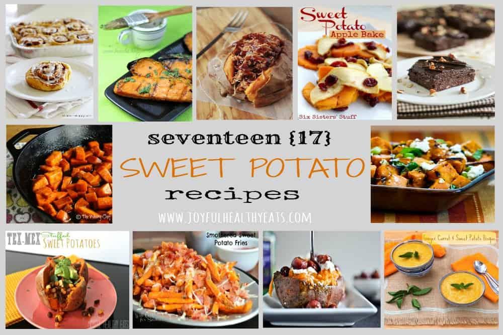 Sweet Potato Recipes Roundup #vegetarian #sidedishes
