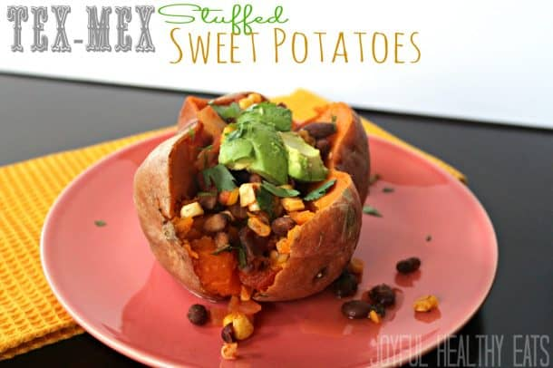 Tex-Mex Stuffed Sweet Potato 6