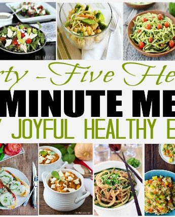 35 Healthy 30 Minute Meals #30minutemeals #healthymeals