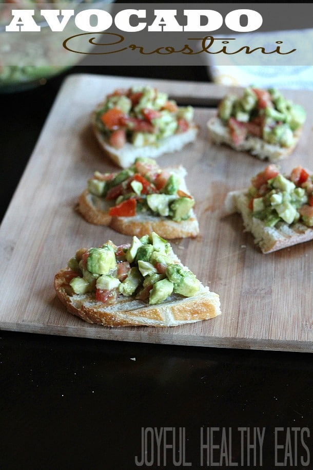 Title Image for Avocado Crostini