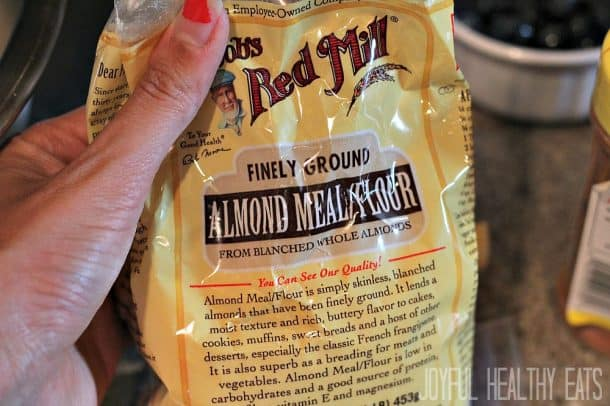 A package of Almond Meal/Flour