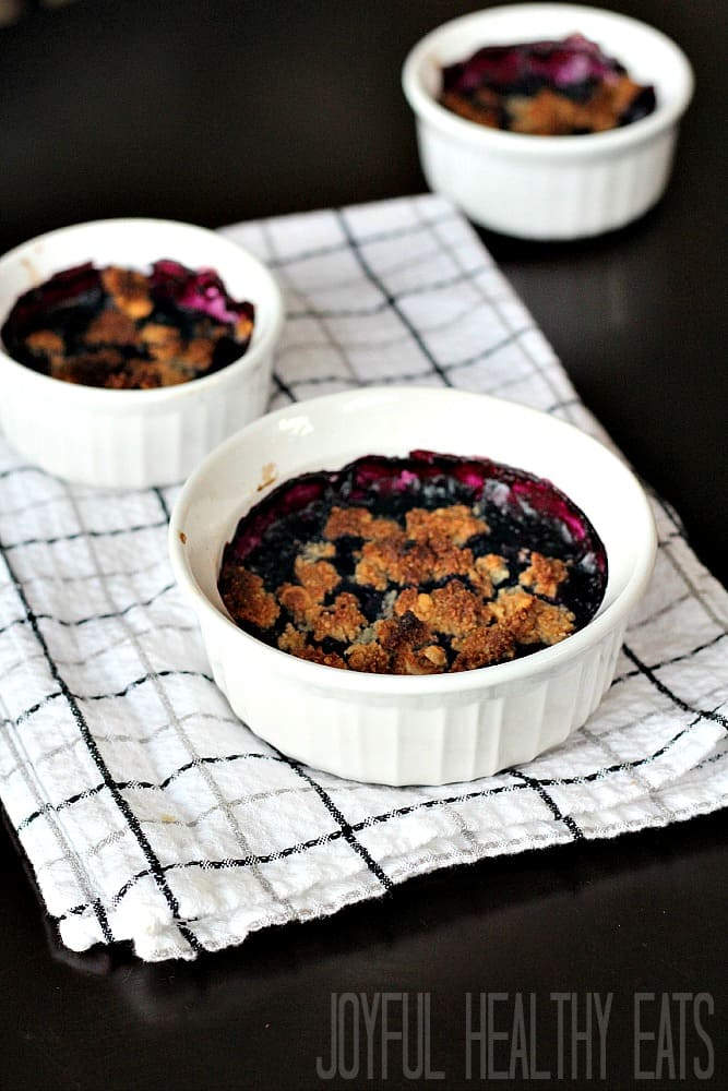 Blueberry Cobbler 7