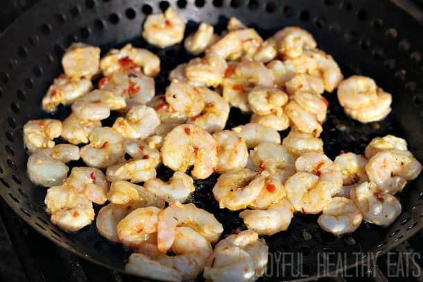 Grilled Shrimp Salad 4