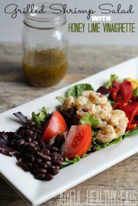 Grilled Shrimp Salad Recipe