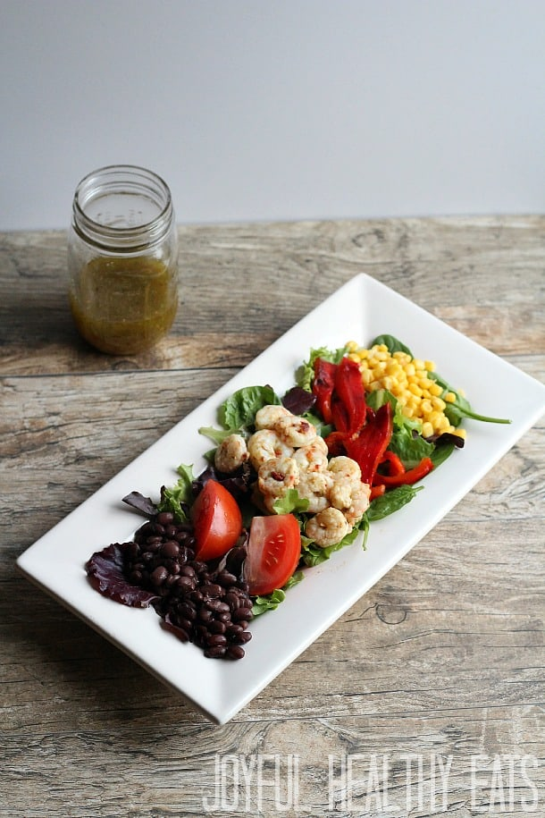 Healthy Grilled Shrimp Salad Recipe