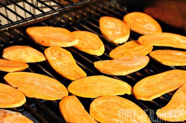 Grilled Sweet Potatoes 5