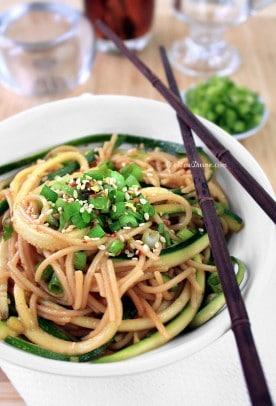 Healthy-Ginger-Scallion-Noodles