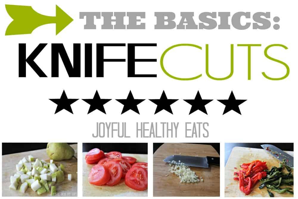 Knife Cuts #mince #dice #slice #thebasics