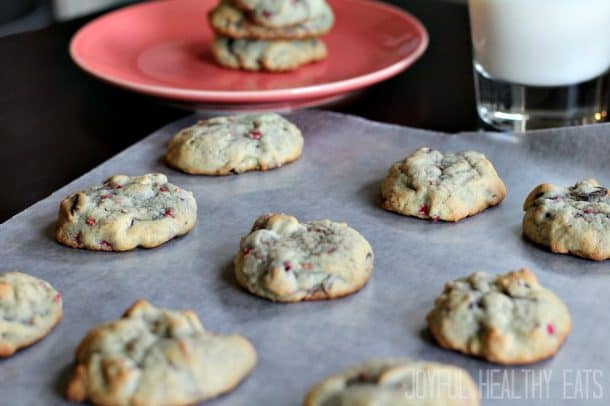 Raspberry Chocolate Chip Cookies 8