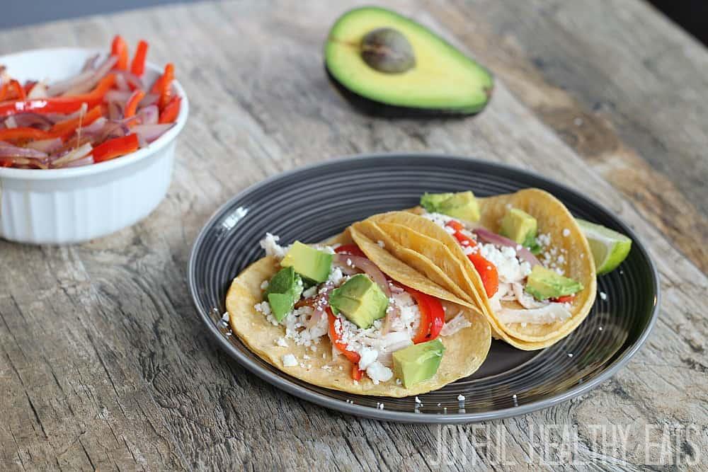 Rotisserie Chicken Tacos #easymeal #chickentacos #rotisseriechicken