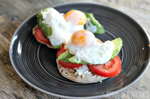 Veggie Eggs Benedict #eggs #breakfast #eggsbenedict