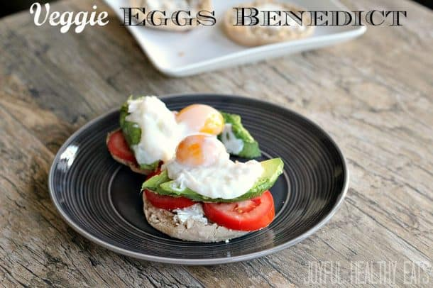 Easy Veggie Eggs Benedict Recipe