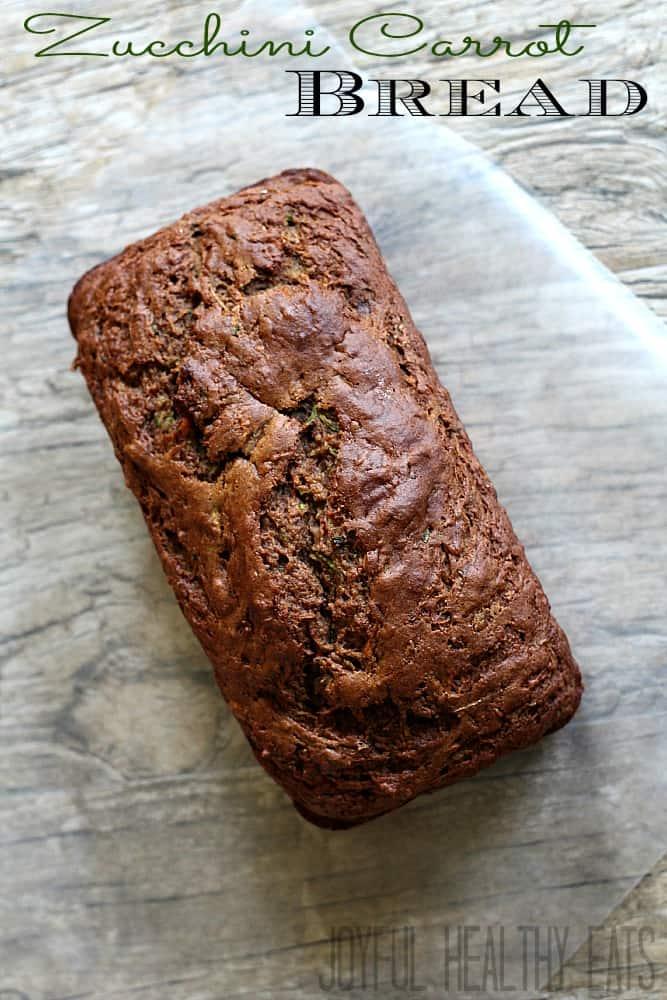 Zucchini Carrot Bread #zucchinibread #breakfastbread #zucchini