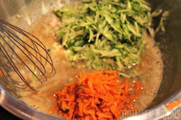 Zucchini Carrot Bread 7