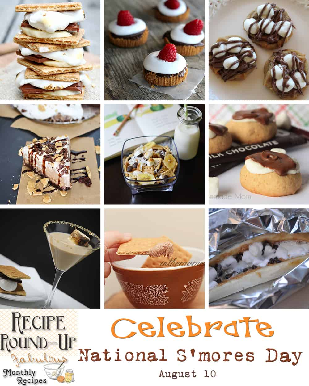 smores collage W