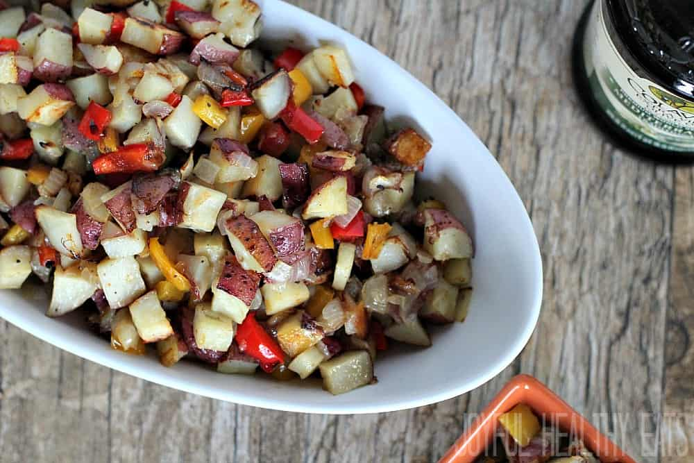 Breakfast Potatoes #breakfastrecipes #roastedpotatoes