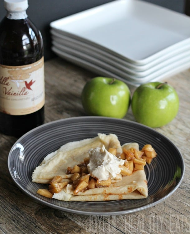 Crepes w Apple Cinnamon 12
