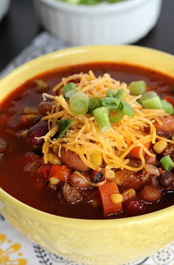 Crock Pot Chili #chilirecipe #3beanchili #crockpot