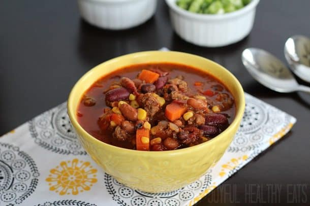 how to cook dry red kidney beans for chili