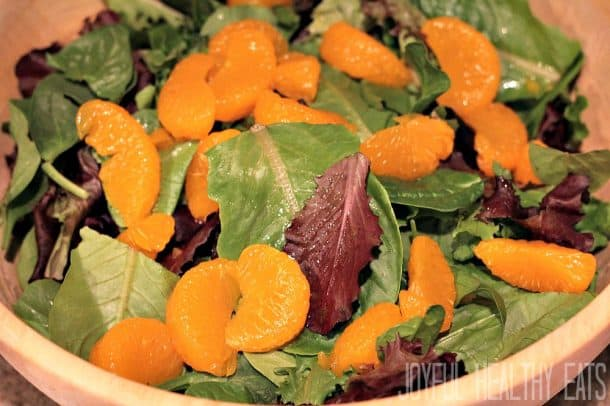 Mandarin Orange Cranberry Salad 2