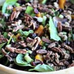 Mandarin Orange Cranberry Salad #saladrecipes #mandarinorange #fallrecipes