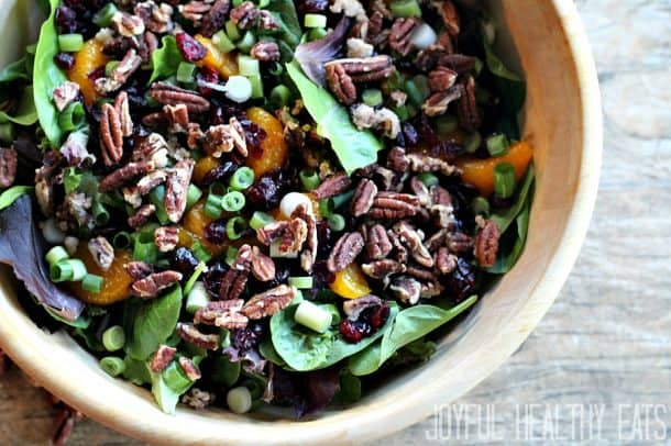 Mandarin Orange Cranberry Salad 4