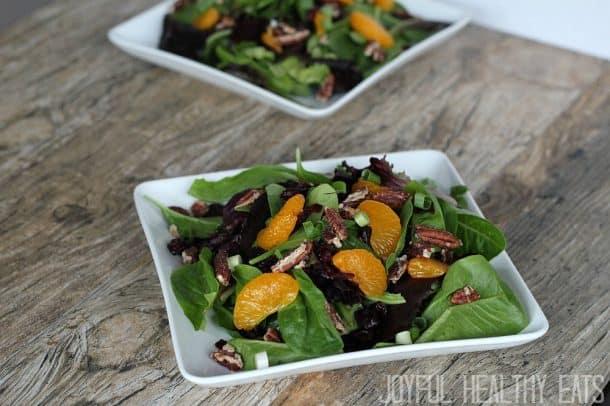 Mandarin Orange Cranberry Salad 9
