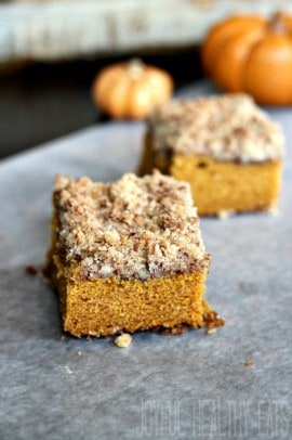 Pumpkin Spice Coffee Cake 12