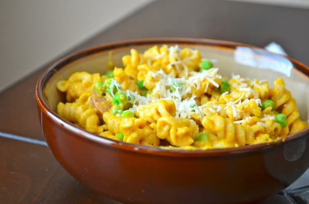 Pumpkin Mac'n'Cheese