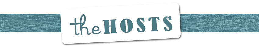 Green and white text image for The Hosts