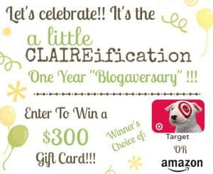 ALittleClaireification Giveaway