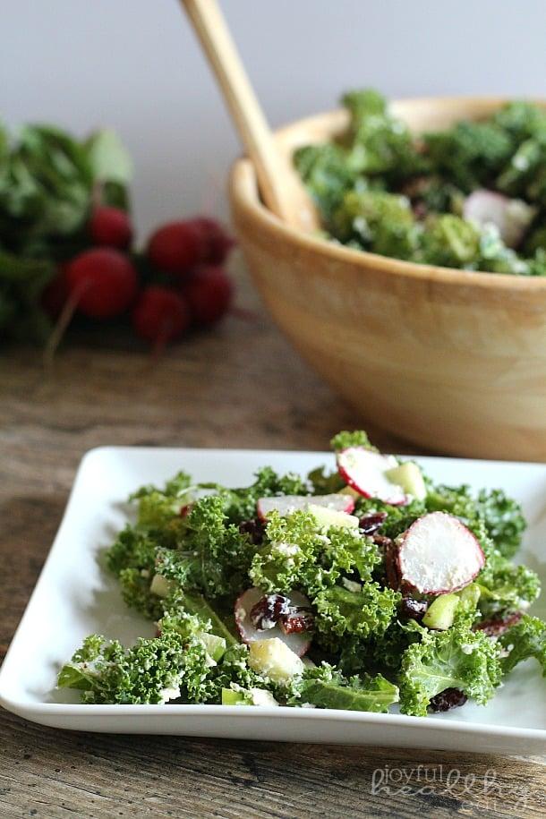 Autumn Kale Salad 6