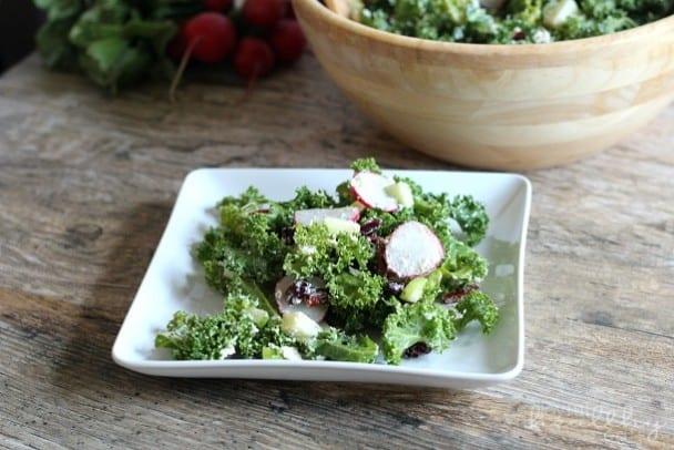 Autumn Kale Salad 7