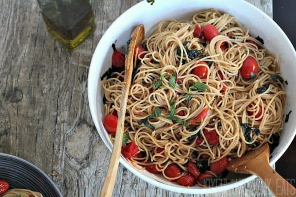 Burst Tomato Pasta 10