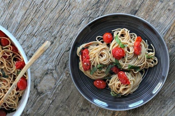 Burst Tomato Pasta 9