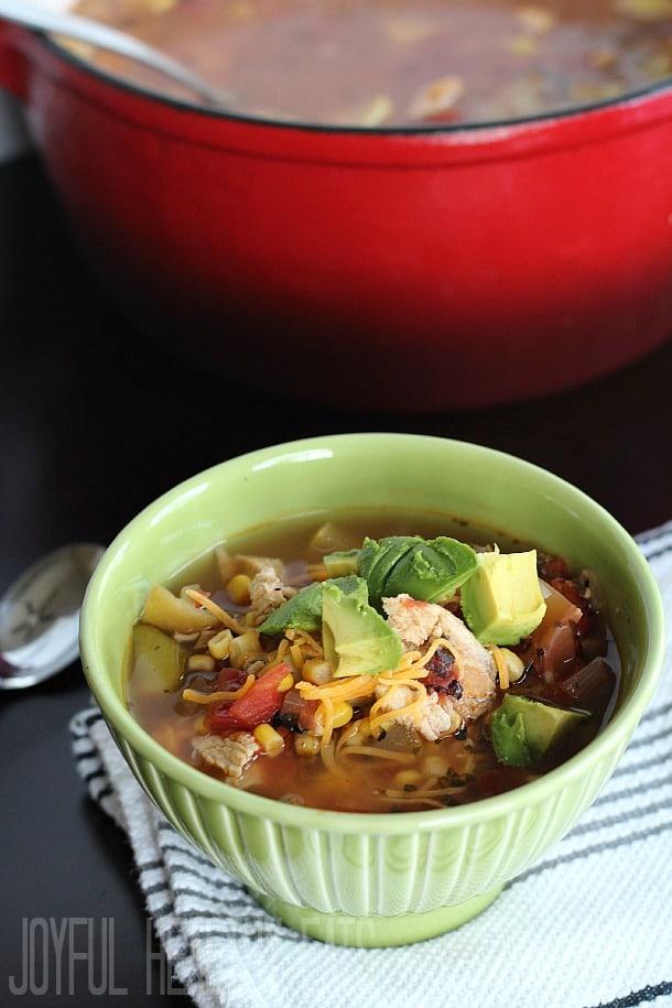 Chicken Tortilla Soup 10