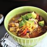 Chicken Tortilla Soup #souprecipes #chickentortillasoup