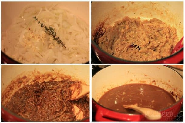 Steps to make French Onion Soup
