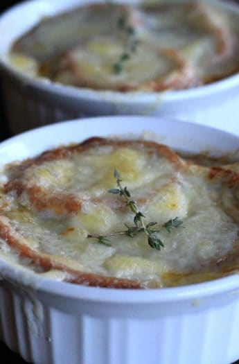 French Onion Soup Baked in a Pumpkin #frenchonion #soup #recipes #pumpkin