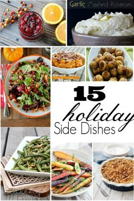 Title Image for 15 Holiday Side Dishes examples of 6 holiday side dishes
