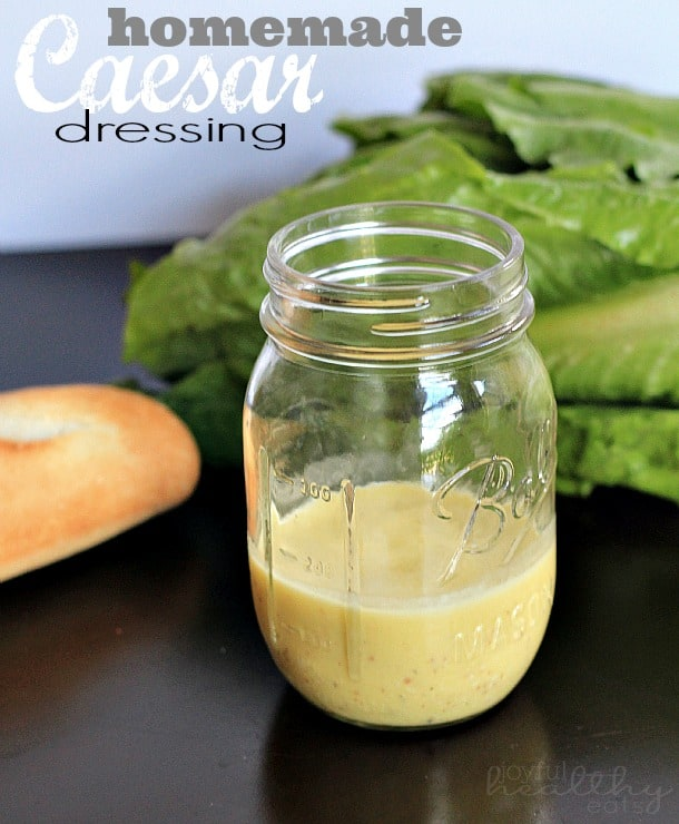 Homemade Caesar Dressing #caesar #dressingrecipes #saladdressing