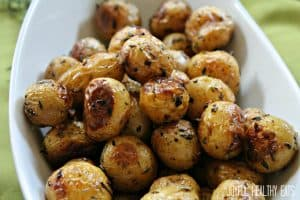 Image of Garlic Herb Roasted Potatoes
