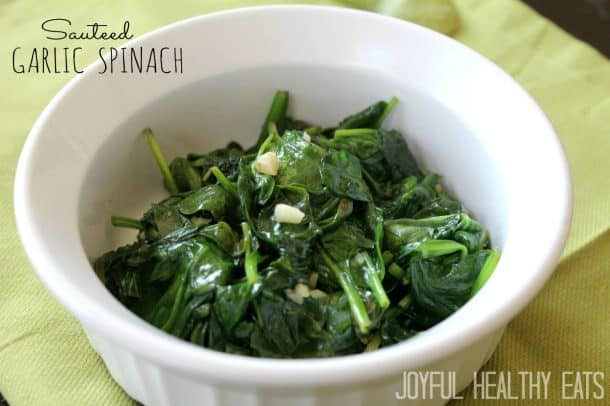 Image of Sauteed Spinach