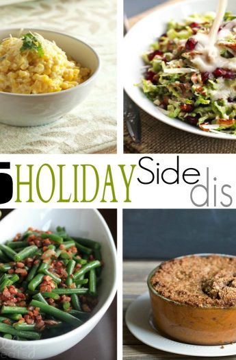 15 Holiday Side Dishes #recipes #holiday #sidedishes