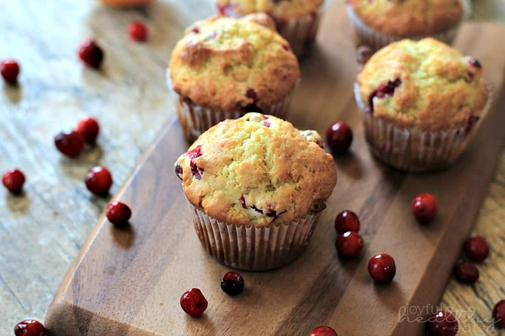 Cranberry Orange Muffins #cranberry #muffins #breakfast #holiday