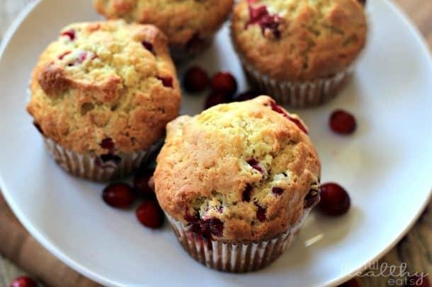 Cranberry Orange Muffins 4