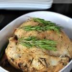 Garlic Herb Crock Pot Chicken 5