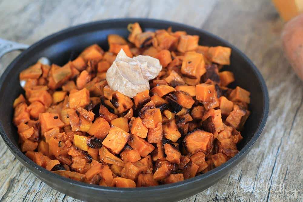 Sweet Potato Butternut Squash Hash 2