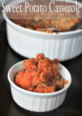 Image of Sweet Potato Casserole with Crunchy Pecan Streusel