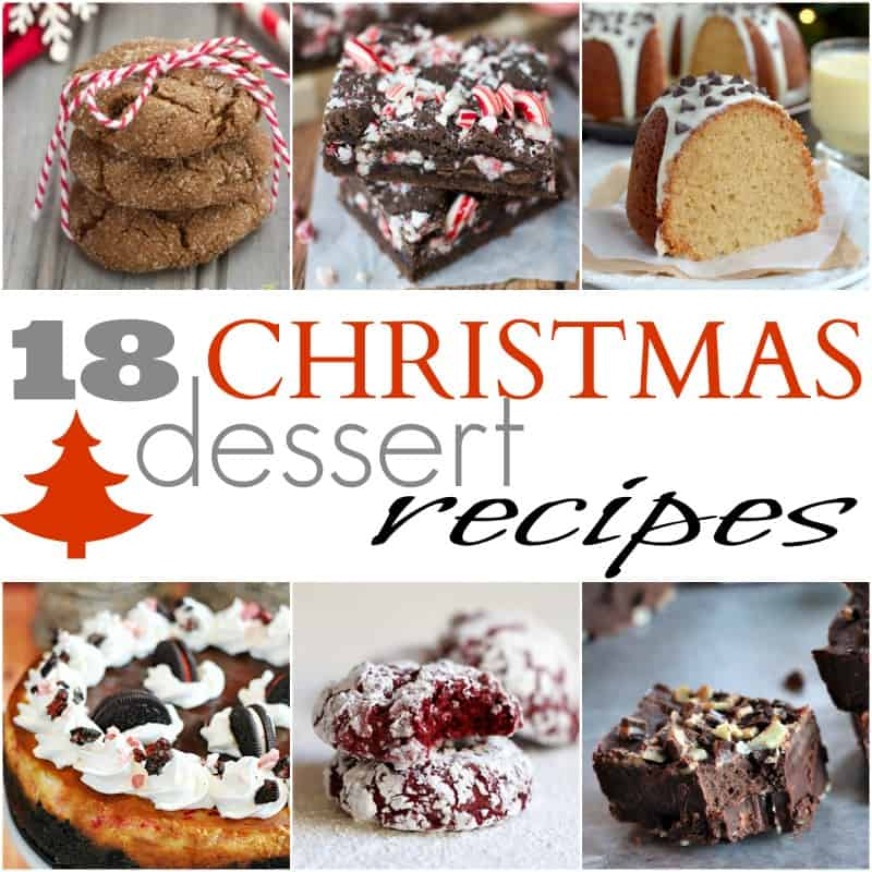 18 Christmas Dessert Recipes #christmas #cookies #dessert #recipes #holiday